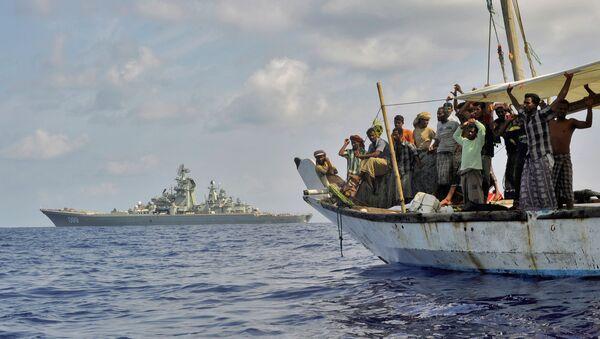 Russian Rear Admiral Assesses Pirate Threat - Sputnik International