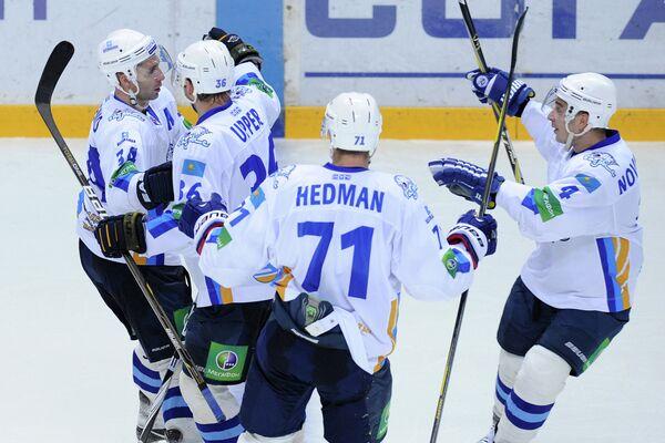 KHL: Barys Defeats Salavat Yulaev - Sputnik International