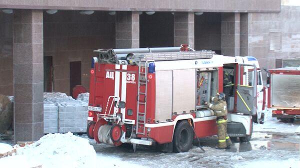 Nine Die in Moscow Garage Fire - Sputnik International