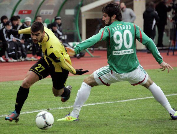 Friendly match between Beitar and Chechen team Terek Grozny - Sputnik International