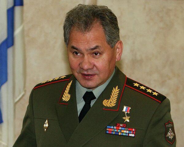 Russian Defense Minister, Army Gen. Sergei Shoigu - Sputnik International