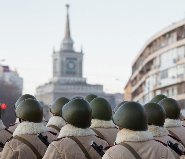 Stalingrad Battle Parade Rehearsal - Sputnik International