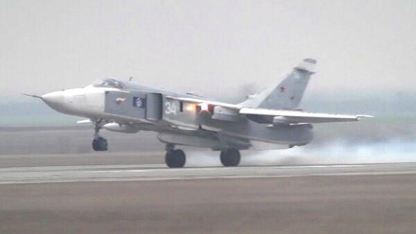 Russian Pilots Conduct Air Strike, Detect Naval Targets - Sputnik International