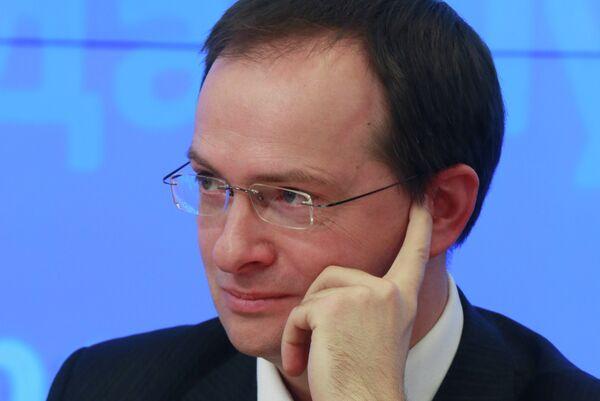 Russian Culture Minister Vladimir Medinsky - Sputnik International
