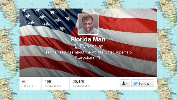 Twitter's new anti-hero: 'Florida Man' - Sputnik International