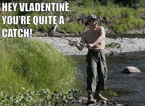 """Two Americans have created a """"Vladentine's Day"""" blog that features Vladimir Putin-themed Valentine's Day messages. - Sputnik International"""