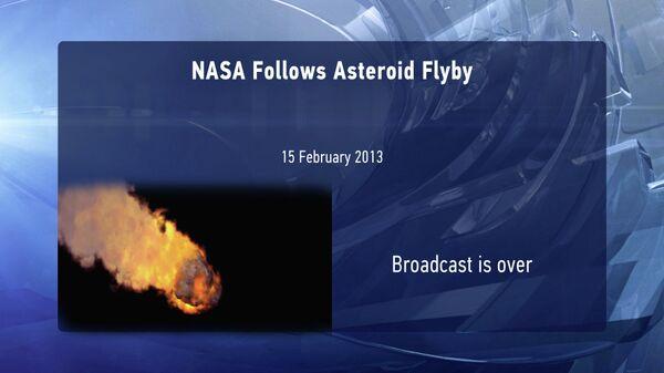 NASA Follows Asteroid Flyby - Sputnik International