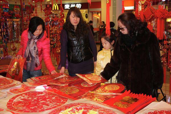 China's Lunar New Year Boosts Retail Sales - Sputnik International