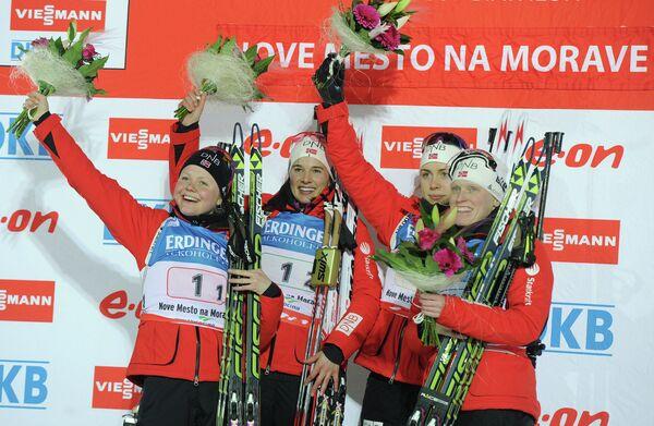 Dominant Norway Takes Relay Gold at Biathlon Worlds - Sputnik International