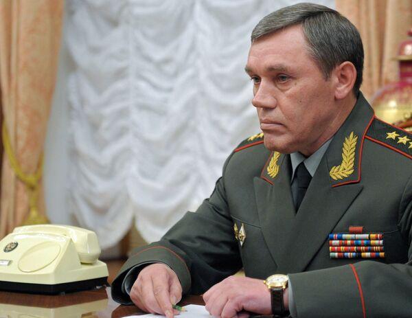 General Staff chief Valery Gerasimov - Sputnik International