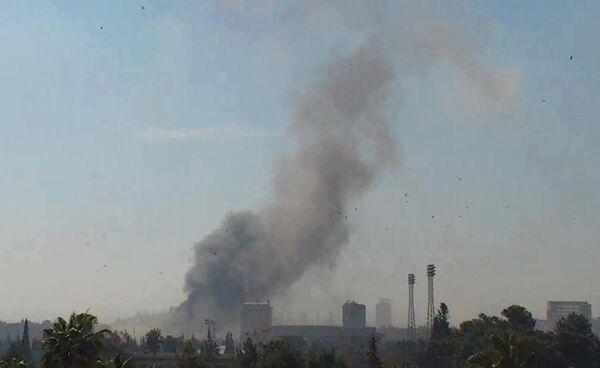 Bomb Explodes Outside the Russian Embassy in Damascus - Sputnik International
