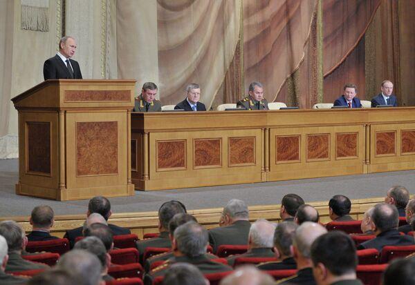 Putin Orders Defense Ministry to Get House in Order - Sputnik International
