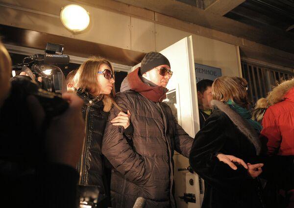 Sergei Filin with his wife - Sputnik International