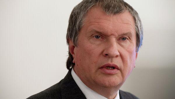 Rosneft head Igor Sechin - Sputnik International
