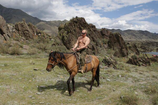 Russian President Vladimir Putin. Archive - Sputnik International