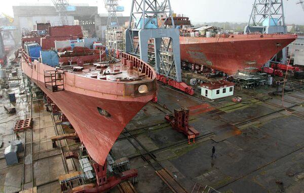 Yantar shipyard (archive) - Sputnik International