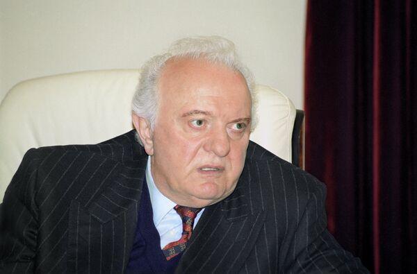 Georgian ex-president Eduard Shevardnadze - Sputnik International