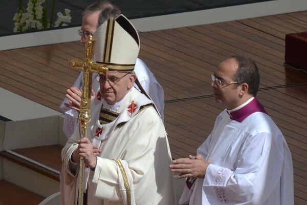 Catholic Church Inaugurates Pope Francis - Sputnik International