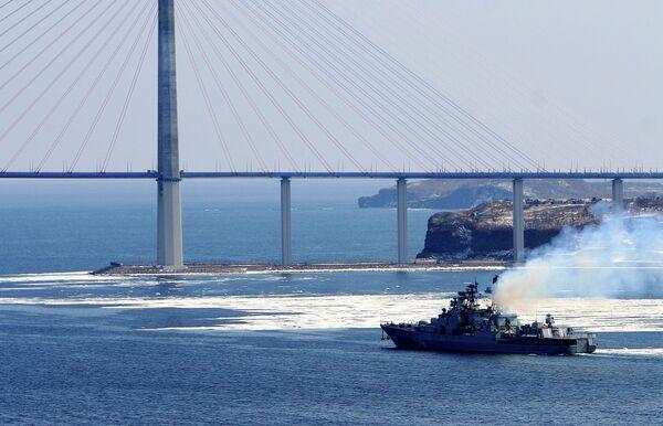 The Peresvet amphibious warfare ship - Sputnik International