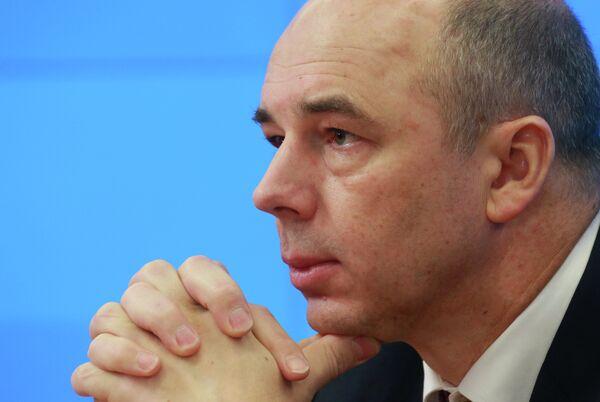 Russian Finance Minister Anton Siluanov - Sputnik International