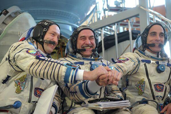 New Space Station Crew Approved - Sputnik International
