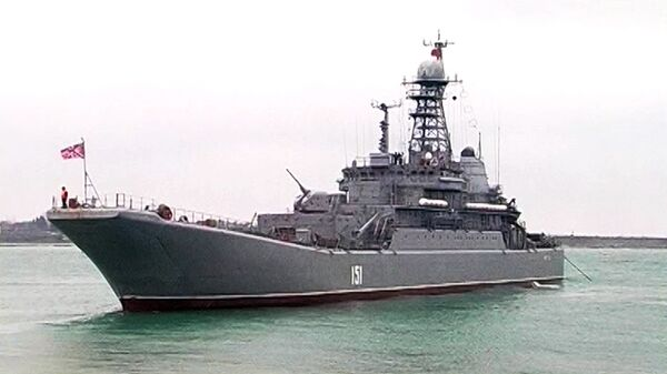 Russia Sends Warship to Israel for First Time - Sputnik International