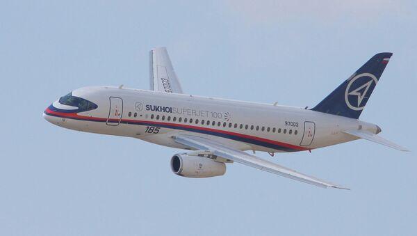 UTair Signs $217M Contract for 6 Superjets - Sputnik International