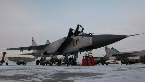 Interceptor fighter MiG-31BM - Sputnik International