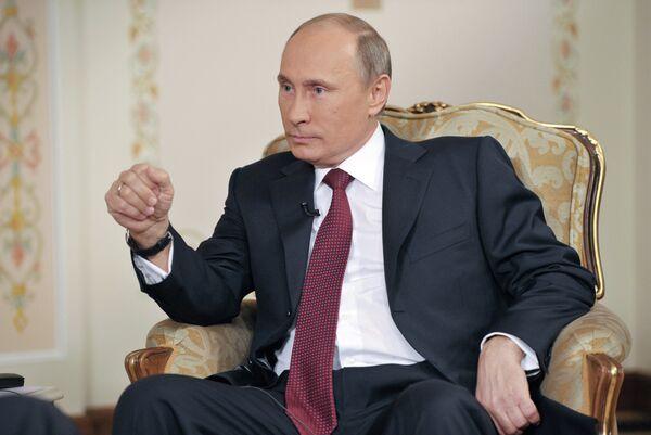 Syria Needs Negotiations to Stop 'Massacre' – Putin - Sputnik International