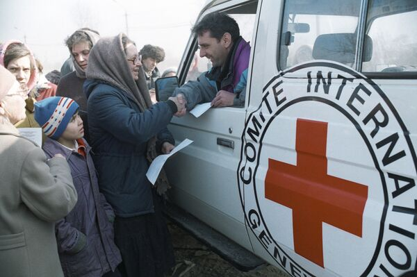International Committee of the Red Cross (ICRC) (archive) - Sputnik International