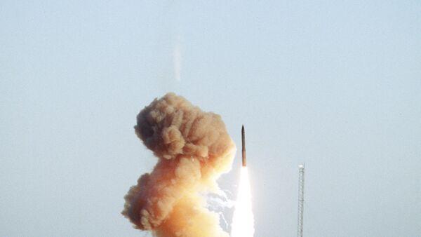 Minuteman III test launch, 1994 - Sputnik International