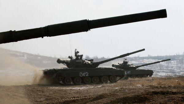 T-72 main battle tanks - Sputnik International