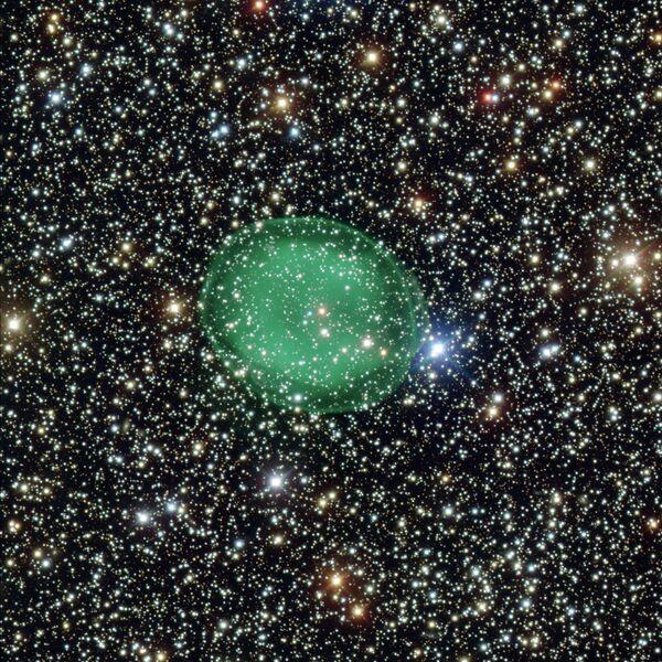 Chile-Based Telescope Captures Star's Death - Sputnik International
