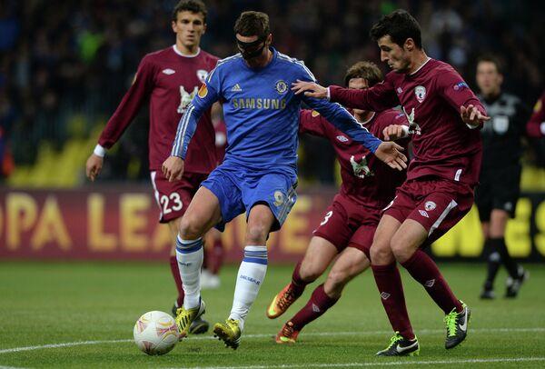 Chelsea Battle Past Tenacious Rubin in Europa League - Sputnik International