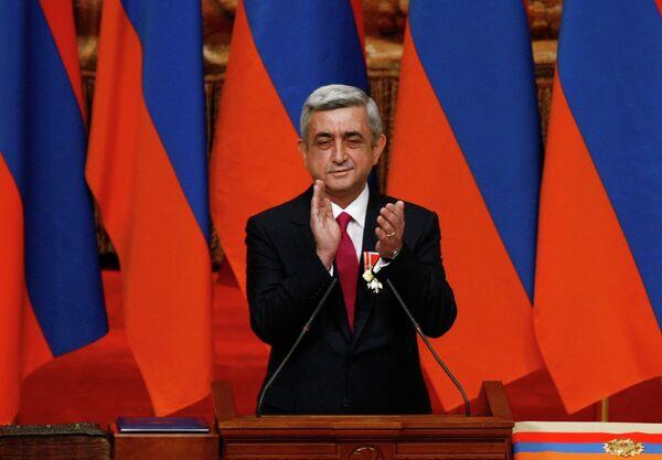 Armenian President Serzh Sargsyan - Sputnik International
