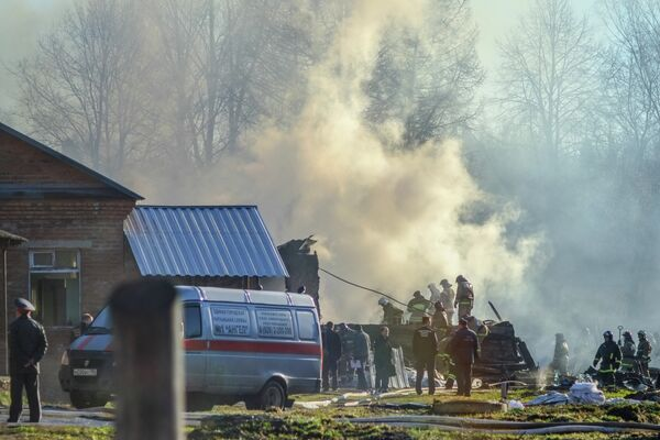 Fire at Psychiatric Clinic Near Moscow Kills 38 - Sputnik International
