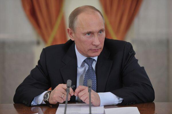 Putin Opposes Free Gun Sales in Russia - Sputnik International