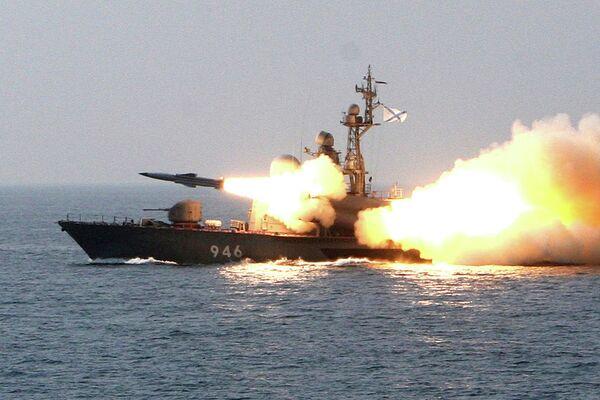 Russia's Pacific Fleet holds missile boat exercises - Sputnik International