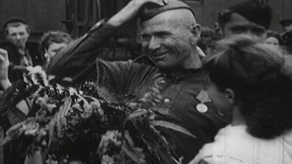 Victory Celebrations. May 9, 1945. Archive Footage - Sputnik International