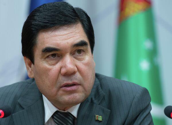 Turkmen President Gurbanguly Berdymukhamedov - Sputnik International