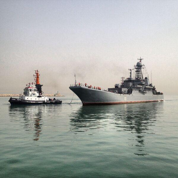 In a First, a Russian Warship Docks in Israel - Sputnik International