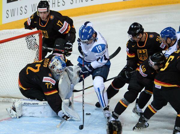 Finland Beats Germany in Overtime at Ice Hockey Worlds - Sputnik International