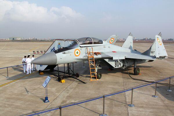 Indian Navy Commissions First MiG-29K Fighter Squadron - Sputnik International