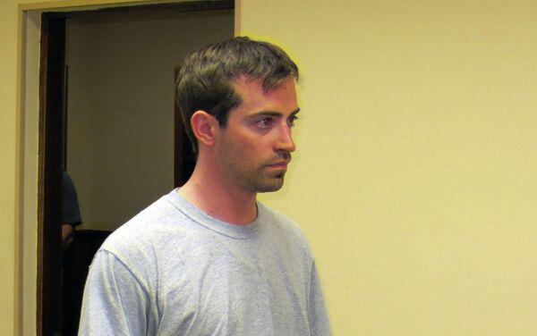 Accused American spy Ryan Fogle, following his detention in Moscow - Sputnik International