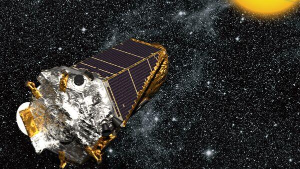 Artist's rendition of Kepler spacecraft. - Sputnik International