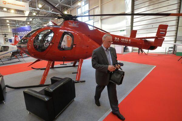 Heli-Russia 2013 Exhibition Opens in Moscow - Sputnik International