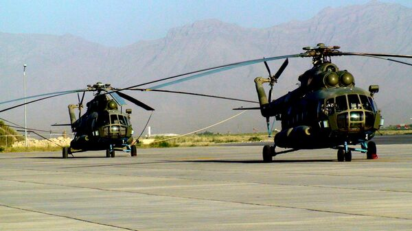 Russian Mi-17 in Afghanistan - Sputnik International