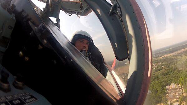 Strizhi Aerobatic Display Team Rehearses New Flight Program with New Commander - Sputnik International