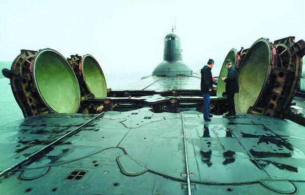 Russia to Scrap World's Biggest Nuclear Subs - Sputnik International