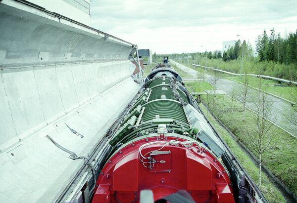 Rail-mounted nuclear missile - Sputnik International